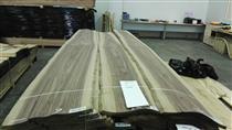 供应到青岛、黄岛黑核桃单板、木皮有2MM、3MM、4mm